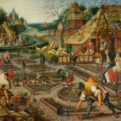 Pieter Brueghel The Younger Spring 1632